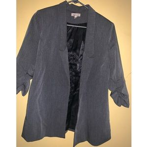 Urban Outfitters charcoal grey blazer